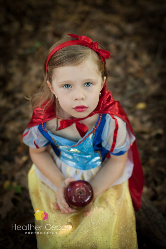 Child Portraits – Snow White – Malvern, PA – Heather Cecco Photography